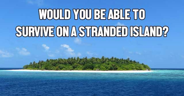 Would You Be Able To Survive On A Stranded Island?