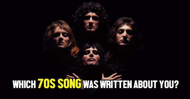 Which 70s Song Was Written About You?