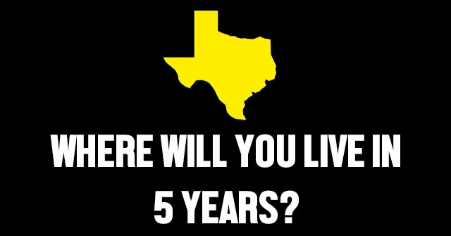 Where Will You Live In 5 Years?