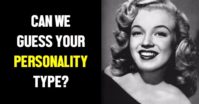 Can We Guess Your Personality Type?