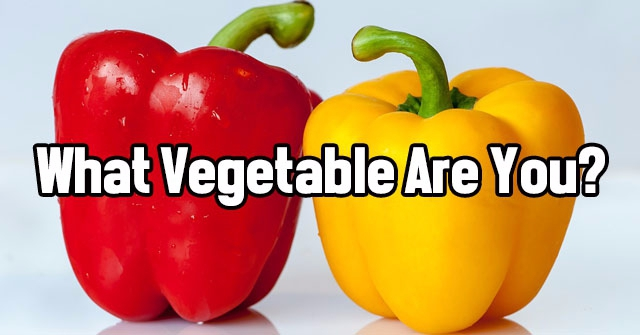 What Vegetable Are You?