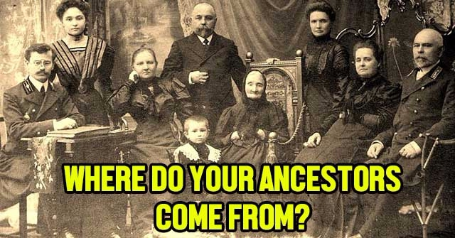 where do your ancestors come from quizlady