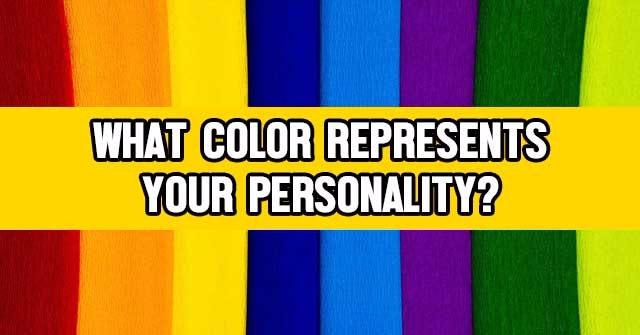 What Color Represents Your Personality?