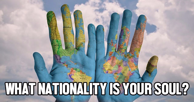 What Nationality Is Your Soul?
