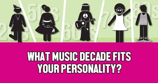 What Music Decade Fits Your Personality?