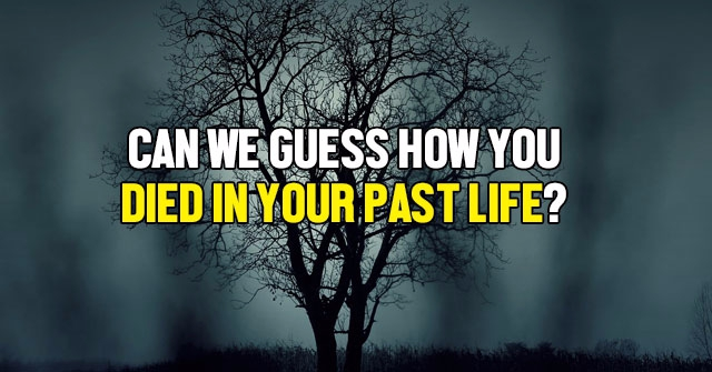 Can We Guess How You Died In Your Past Life?