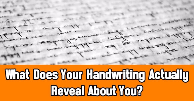 What Does Your Handwriting Actually Reveal About You?