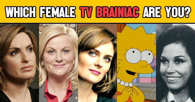 Which Female TV Brainiac Are You?