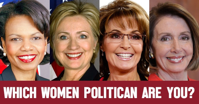 Which Women Politican Are You?