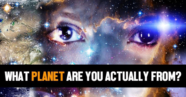 What Planet Are You Actually From?