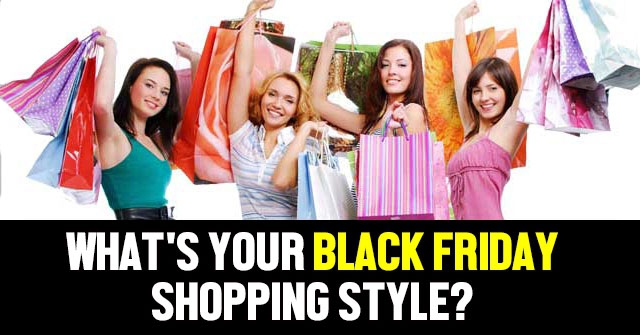 What's Your Black Friday Shopping Style?