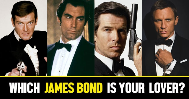 Which James Bond Is Your Lover?
