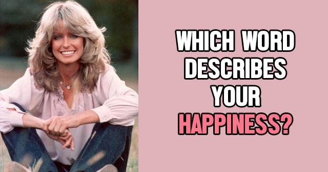 Which Word Describes Your Happiness?