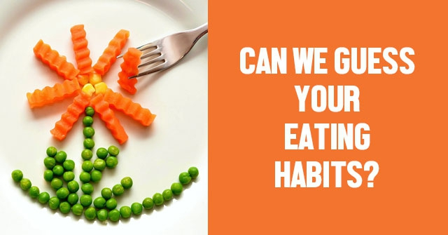 Can We Guess Your Eating Habits?