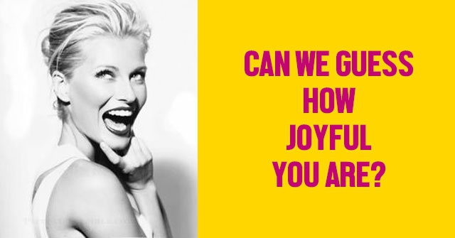 Can We Guess How Joyful You Are?