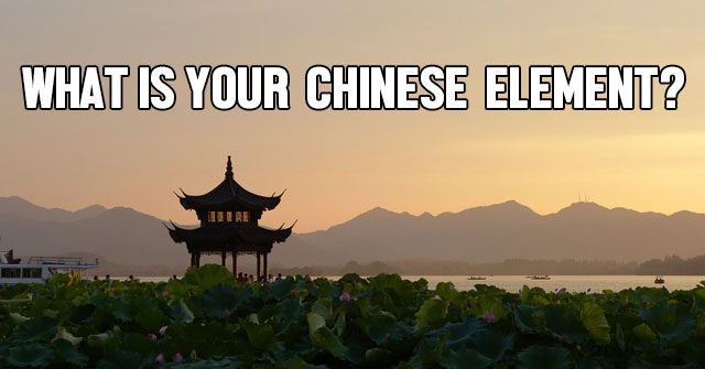 What Is Your Chinese Element?