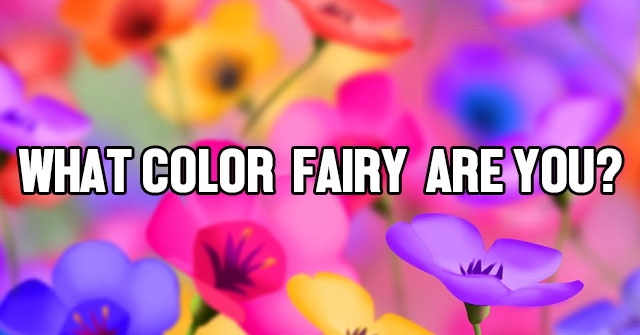 What Color Fairy Are You?