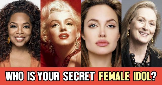 Who Is Your Secret Female Idol?