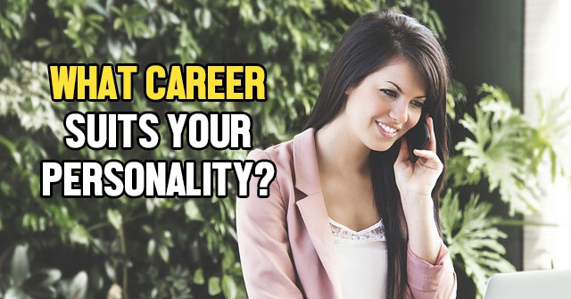 What Career Suits Your Personality?