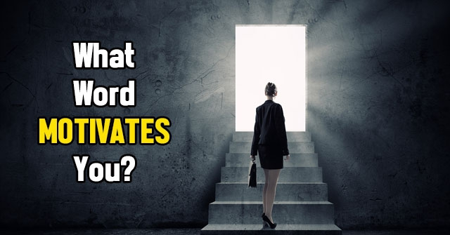 What Word Motivates You?