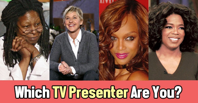 Which TV Presenter Are You?