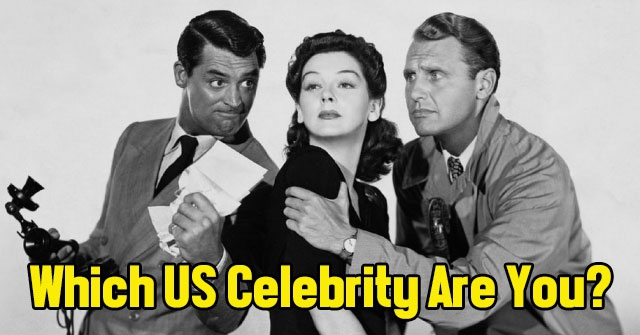 Which US Celebrity Are You?