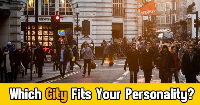 Which City Fits Your Personality?