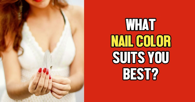 What Nail Color Suits You Best?