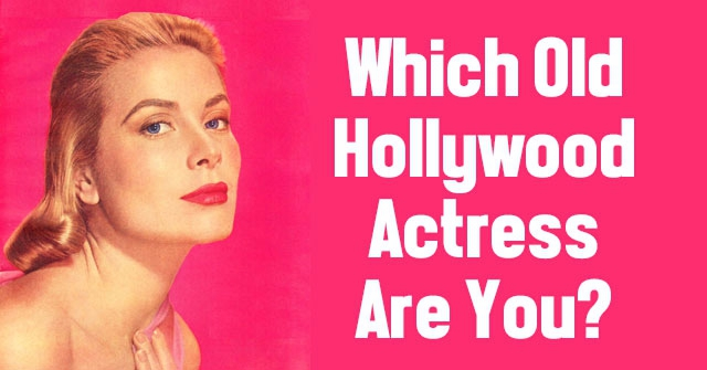 Which Old Hollywood Actress Are You?