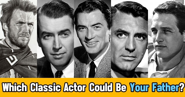 Which Classic Actor Could Be Your Father?