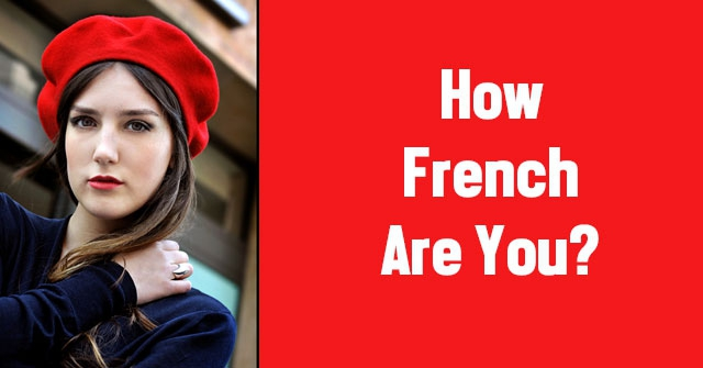 How French Are You?