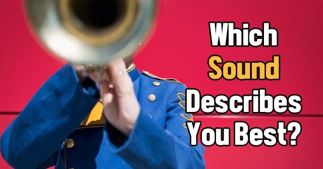 Which Sound Describes You Best?