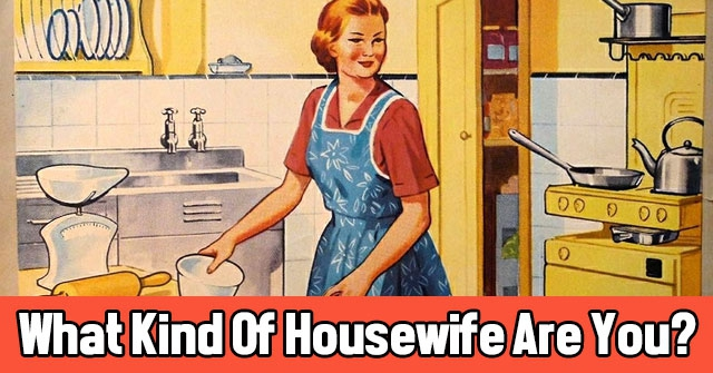 What Kind Of Housewife Are You?