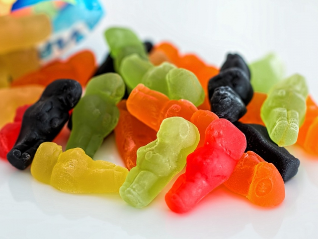 Which gummy bear would you eat first?