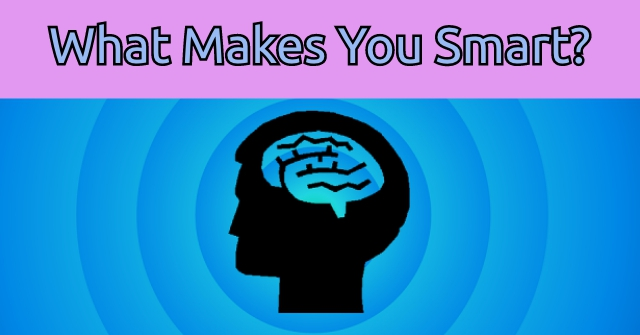 What Makes You Smart?