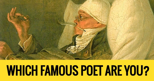 Which Famous Poet Are You?