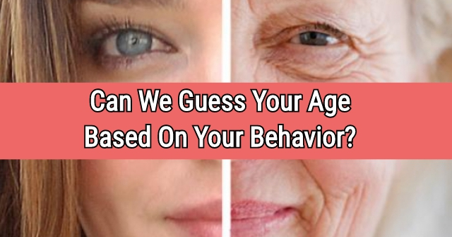 Can We Guess Your Age Based On Your Behavior?