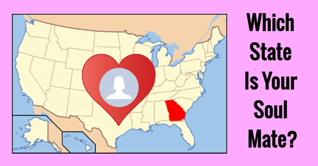 Which State Is Your Soul Mate?