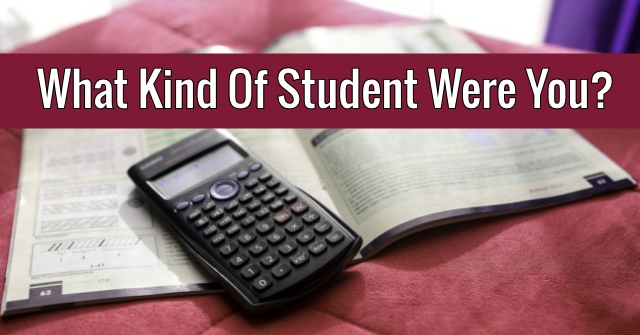 What Kind Of Student Were You?
