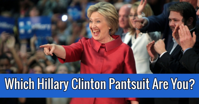 Which Hillary Clinton Pantsuit Are You?