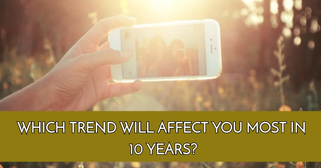 Which Trend Will Affect You Most in 10 years?