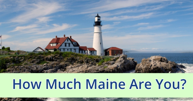 How Much Maine Are You?