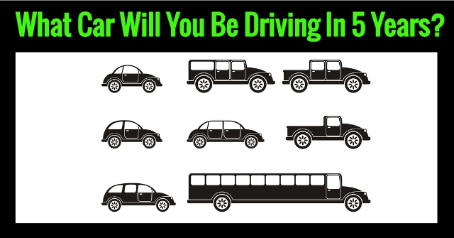 What Car Will You Be Driving In 5 Years?