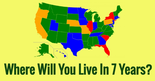 Where Will You Live In 7 Years?