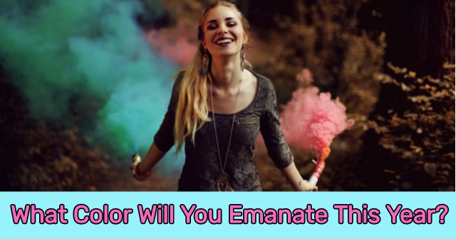 What Color Will You Emanate This Year?
