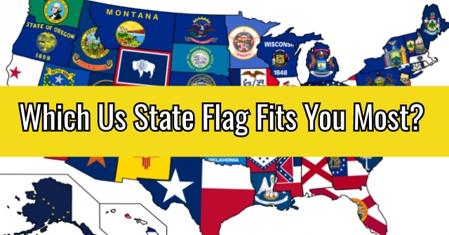Which Us State Flag Fits You Most?
