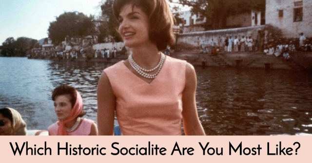Which Historic Socialite Are You Most Like?