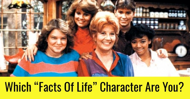 "Which ""Facts Of Life"" Character Are You?"