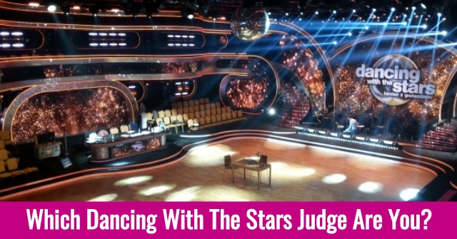 Which Dancing With The Stars Judge Are You?