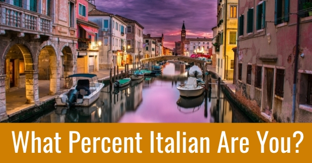 What Percent Italian Are You?